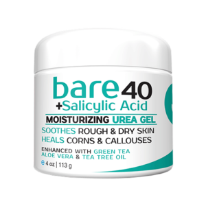 Salicylic acid bare urea gel